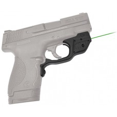 "Crimson Trace LG489G Laserguard S&W Shield Green  633nm .5""@50ft Blk Poly"