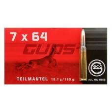 GECO 231240020 7x64mm Brenneke Soft Point 165 GR 20 Box/10 Case