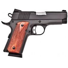 "Citadel CIT9MMCSP M-1911 Compact Single 9mm 3.5"" 7+1 Wood Grip Black"