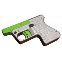 """Heizer PS1SSGR PS1 Pocket Shotgun Pistol Single 45 Colt (LC)/410 Gauge 3.5"""" 1 Round Green Barrel"""