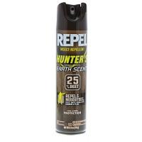 Repel 94139 Hunters Formula Insect Repellent Aerosol 25%DEET 6oz Earth Scent
