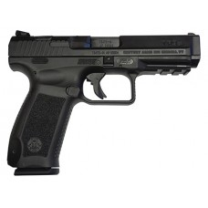 "Century HG3277N TP9SA SA 9mm 4.5"" 18+1 Interchangeable Palmswell Black"