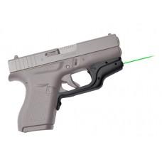 Crimson Trace LG443G Laserguard Glock 42/43 Green Green Laser Trigger Guard