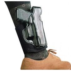 Desantis Gunhide 014PCE1Z0 Die Hard Ankle Rig Glock 26/27/33 Leather/Sheepskin Padding Black