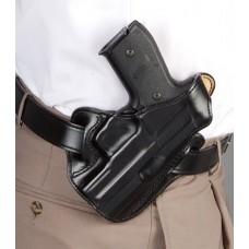 Desantis Gunhide 001BAN3Z0 Thumb Break Scabbard Ruger LCR/LCRX Leather Black