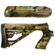 Adaptive Tactical 02010 EX Performance Shotgun Polymer MultiCam