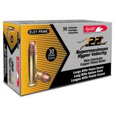 Aguila 1B222297 22 Long Rifle 30 GR Super Max Hollow Point 5000Cs