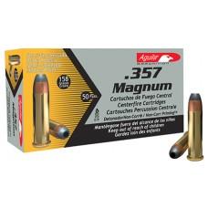 Aguila 1E572823 357 Magnum 158 GR Semi-Jacketed Soft Point 50 Bx/ 20 Cs