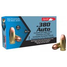 Aguila 1E802110 380 Auto 95 GR Full Metal Jacket 50Bx/20Cs