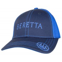 Beretta USA Sports Cap Velcro Closure Navy One Size Fits Most Cotton
