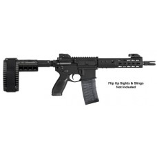 "Sig Sauer PM400300B9BE PM400 Elite AR Pistol Semi-Automatic 300 AAC Blackout/Whisper (7.62x35mm) 9"" 30+1 Polymer Black"