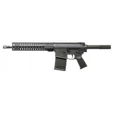 """CMMG 38A923E MK3 Pistol AR Pistol Semi-Automatic 308 Winchester/7.62 NATO 12.5"""" 20+1 7075 Aluminum Black"""