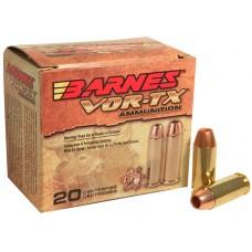 Barnes 31180 VOR-TX Handgun Hunting 10mm 155 GR XPB 20Bx/10Cs