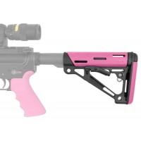 Hogue 15750 AR-15 Rifle Polymer Pink Buttstock