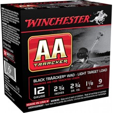 "Winchester Ammo AA129TB AA TrAAcker 12 Gauge Clear Sky Training Light 12 Gauge 2.75"" 1-1/8 oz 9 Shot 25 Bx/ 10 Cs"