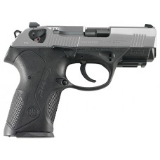 "Beretta USA JXC9F51 Px4 Storm Compact Inox Single/Double 9mm Luger 3.27"" 15+1 Black Interchangeable Backstrap Grip Stainless Steel"