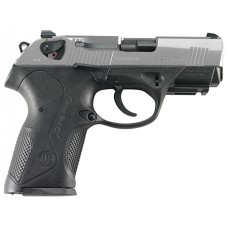 "Beretta USA JXC4F51 Px4 Storm Compact Single/Double 40 Smith & Wesson (S&W) 3.27"" 12+1 Black Interchangeable Backstrap Grip Stainless Steel"