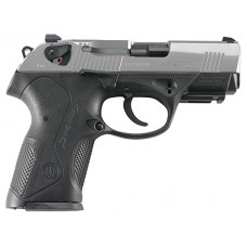 "Beretta USA JXC4F50 Px4 Storm Compact Inox Single/Double 40 Smith & Wesson (S&W) 3.27"" 10+1 Black Interchangeable Backstrap Grip Stainless Steel"