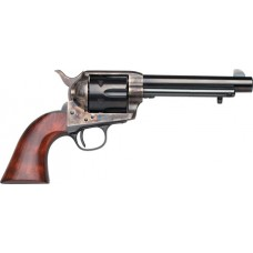 """Taylors and Company 701E 1873 Cattleman Single 357 Magnum 5.5"""" 6rd Walnut Blued"""