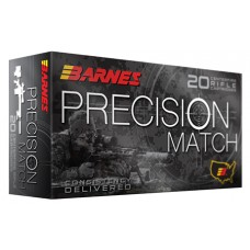 Barnes Bullets 30740 Precision Match 300 Win Mag 220 GR OTM 20 Bx/ 10 Cs