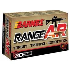 Barnes 30733 Range AR 300 AAC Blackout 90GR OTFB 20Box/10Case