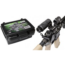 Samson 3XM-SMAG 3.5x Magnifier w/Quick Flip Mount 3.5x 35mm Obj Eye Relief  Black Matte