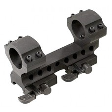 "Samson DMR30-0 Rings and Base Set 30mm Dia 0"" Offset Quick Release Style Blk"