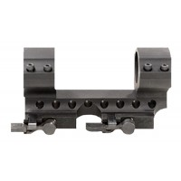 """Samson DMR1-0 Ring and Base Set 1"""" Dia 0"""" Offset Quick Release Style Blk"""