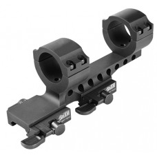 "Samson DMR1-2 Ring and Base Set 1"" Dia 2"" Offset Quick Release Style Blk"