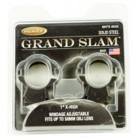 "Weaver Mounts 49320 Grand Slam Adjustable Ring Set 1"" XHigh 1"" Dia Black Matte"