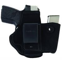 Galco WLK460B Walkabout Inside The Pants Black Glock 42 Steerhide