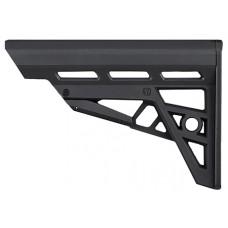 Advanced Technology B2102212 AR-15 TactLite Polymer Black 6 Pos Collapsing