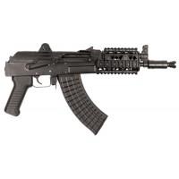 """Arsenal SAM7K01R SAM7K 01R Quad Rail AK Pistol Semi-Automatic 7.62X39mm 10.5"""" 5+1  Black"""