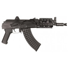 "Arsenal SAM7K01R SAM7K 01R Quad Rail AK Pistol Semi-Automatic 7.62X39mm 10.5"" 5+1  Black"