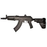 "Arsenal SAM7K03 SAM7K 03 Pistol Stabilizing Brace Milled Receiver AK Pistol Semi-Automatic 7.62X39mm 10.5"" 5+1 Polymer Black"