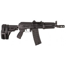 "Arsenal SLR10660 SLR-106U/UR 60 Pistol Stabilizing Brace Stamped Receiver AR Pistol Semi-Automatic 223 Remington/5.56 NATO 8.5"" 5+1/20+1 Polymer Black"