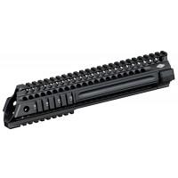 "Yankee Hill 5145 SLR Slant Series Forearm AR-15 Quad Rail 9.3"" Aluminum Black"