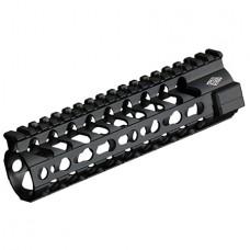 """Yankee Hill 5220 SLK Keymod Handguard AR-15 7.3"""" Rail Aluminum Black"""