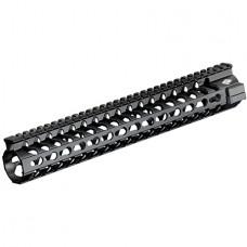 """Yankee Hill 5260 SLK Keymod Handguard AR-15 12.25"""" Rail Aluminum Black"""