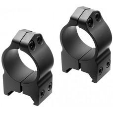 """Nikon 16156 S-Series Ring Set 1"""" Dia Medium Black Matte"""