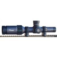 Sig Sauer Electro-Optics SOT62001 Tango6 2-12x 40mm Obj 53-8.8 ft @ 100 yds FOV 30mm Tube Dia Graphite/Black Illuminated MOA Crosshair