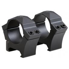 "Sig Sauer Electro-Optics SOA10008 Alpha Ring Set 1"" High Steel Black"