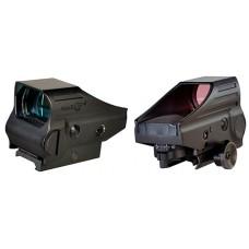 Aimshot M3G M3G 1x 34mm Obj Unlimited Eye Relief 5 MOA IL Multi-Reticle Green Black Matte