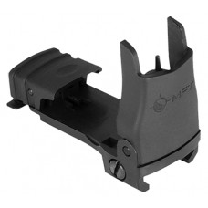 Mission First Tactical BUPSWF Flip Up Front Sight with Elevation Universal Polymer Black