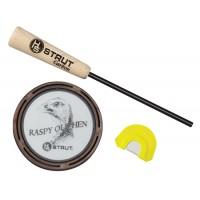 Hunters Specialties 07011 Raspy Old Hen Wild Turkey Glass Call