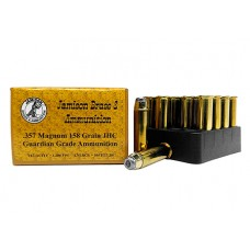 Jamison 357MAG158GRD Guardian Grade 357 Magnum 158 GR Jacketed Hollow Point 20 Bx/ 10 Cs
