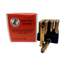 Jamison 357MAX158PRL Prowler Grade 357 Remington Max 158 GR Jacketed Hollow Point 20 Bx/ 10 Cs