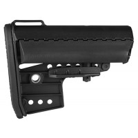 Vltor AIBMCB IMOD Buttstock AR-15 Mil-Spec Clubfoot Polymer Black