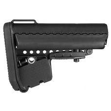Vltor AEBMB EMOD Buttstock AR-15 Mil-Spec Polymer Black