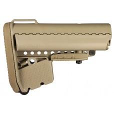Vltor AEBMT EMOD Buttstock AR-15 Mil-Spec Polymer Tan